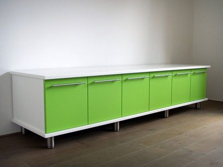 dressoir kast na over spuiten