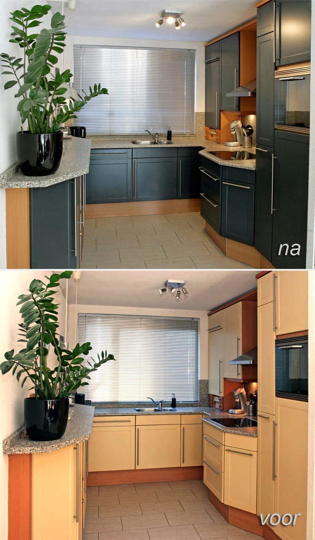 Keuken Schilderen Kosten : Keuken spuiten in Mijdrecht Keukenspuiterij Eurobord
