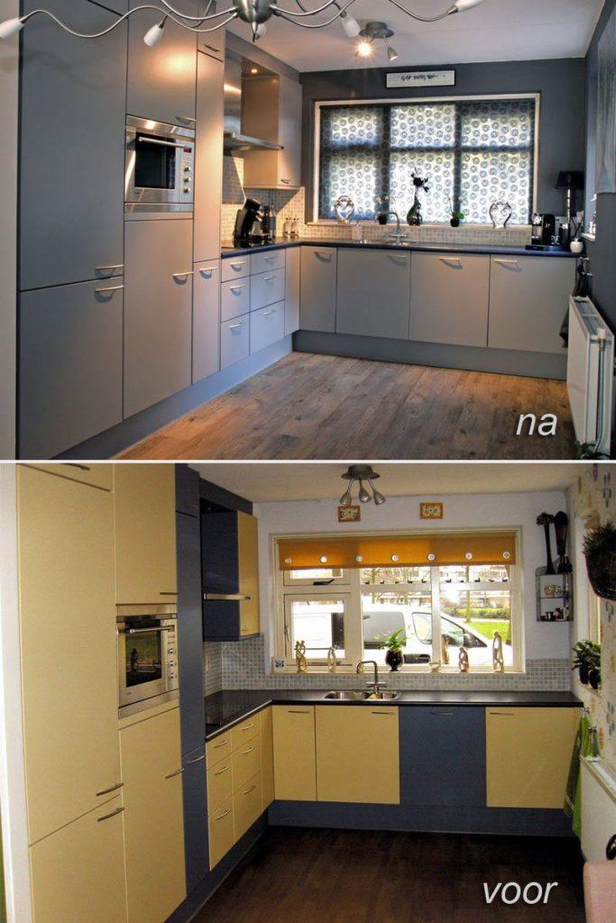 Keuken Schilderen Kosten : Keuken spuiten in Bergen op Zoom Keukenspuiterij Eurobord