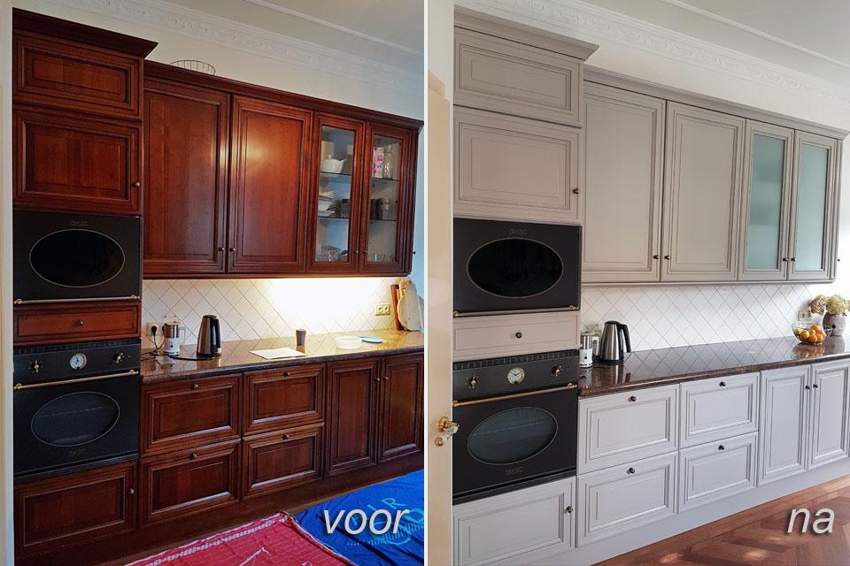 Keuken Schilderen Kosten : 427 x 640 jpeg 48kB, Keuken Spuiten Meubelspuiterij Eurobord Rotterdam